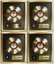KISS Lot 4 Solo Ace Peter Paul Gene LP Gold Non RIAA Record Award Casablanca
