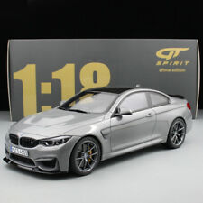 GT Spirit 1:18 Scale Gray BMW M4 CS Resin Car Model Collection Limited Edition