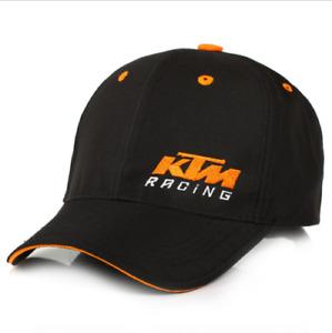NEW Black KTM Baseball Basketball Football Racing Motorcycle Snapback Hat Cap