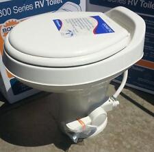 Dometic Sealand 300 Series Plastic RV Camper Trailer Toilet Bone 302300073