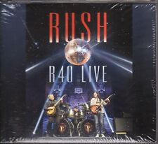 RUSH R40 LIVE 3 DISC CD SET WITH BONUS NEW & SEALED LEE LIFESON PEART