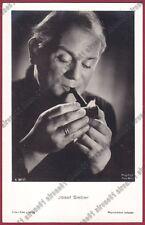 JOSEF SIEBER 01 ATTORE SCHAUSPIELER ACTOR CINEMA MOVIE Cartolina FOT. PIPA PIPE