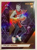 2019-20 Panini Chronicles Recon #294 Tyler Herro RC Rookie Card Holo Miami Heat
