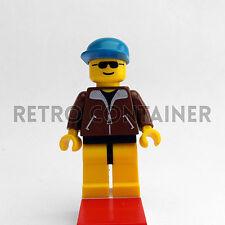 LEGO Minifigures - Worker - trn020 - Treni Città Town Omino Minifig Set 2126