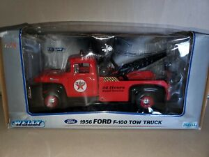 Welly Ford 1956 Ford F100 Tow Truck Diecast 1:18