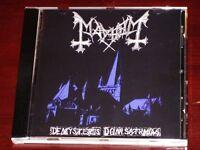 Mayhem De Mysteriis Dom Sathanas CD 1994 Deathlike Silence DSP ANTI-MOSH 006 NEW