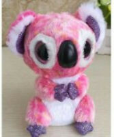 "NEW Beanie Baby Boos Pink Koala 6"" No Tags GREAT for Crafters!"