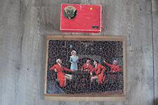 PUZZLE REX VERA Tableau Anglais Bienvenue Punch 400 Pièces bois Complet Vintage