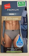 Hanes Men's Ultimate Sport Brief Underwear - Assorted Colors - XL ,Cool Confort