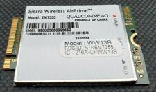 Panasonic Toughbook GOBI 5000 EM7355 Sierra Wireless AirPrime M.2 4G WWAN cards