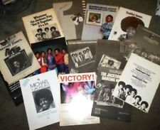 MICHAEL JACKSON FIVE 12 x BILLBOARD 11x14 Ad Poster Lot J5 Rarities Nice Set EXC