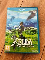Jeu The Legend of Zelda: Breath of the Wild Nintendo Wii U avec boitier PAL