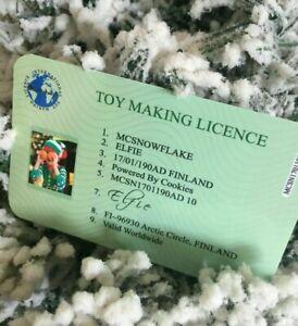 Elf GAMES ACCESSORIES Props Ideas Joke Christmas Decoration Elf Licence 2021