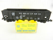 AHM Minitrains #4362 PRR Pennsylvania Open Hopper N Scale ~ used S42