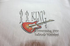 BB King Homecoming 2000 Indianola Mississippi Men's White T Shirt Size Large
