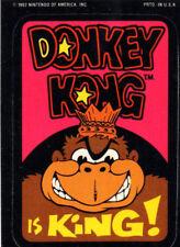 Donkey Kong is King / Super Mario - Sticker - Nintendo 1982/Game & Watch/Arcade