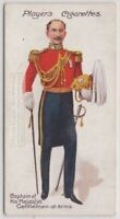 Captain Of His Majesties Gentleman At Arms Dress Uniform 100+ Y/O Trade Ad Card