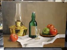 Unframed Oil On Canvas - Still Life By Deborah Jones