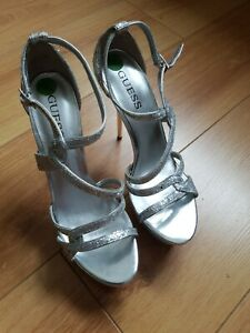 Guess pole Dancing platform Shoes  Bnwob Size 6.5