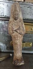 STATUETTE ÉGYPTIENNE EN TERRE cabinet de curiosité