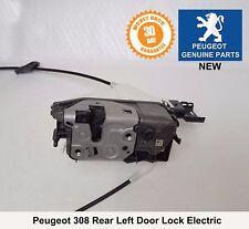 Peugeot 308 Rear Left Door Lock Mechanism Actuator Genuine 9800617180 New