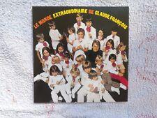 cd album DES ROSES DE NOEL Claude François disque flèche 1970
