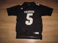 Adidas NCAA Size Ladies Large Colorado Buffaloes Football Jersey/Free Shipping!