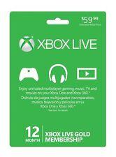 xbox live 12 monat gold mitgliedschaft neu versiegelt