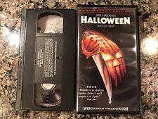 HALLOWEEN VHS! 1978 Illinois Slasher! Black Christmas Pieces The Burning