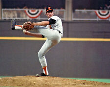 1970 Baltimore Orioles JIM PALMER Glossy 8x10 Photo Baseball World Series Poster