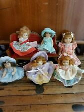 Miniature Cameo Kids Dolly's Set Of Six