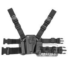 CQC Serpa Left Hand Drop Leg Thigh Pistol Holster for Beretta 92 96 M9 M92