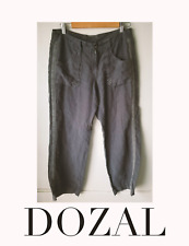 Athleta Travel Pants Russian Blue Size 6P Preowned EUC raf ye fog style 1 snag $
