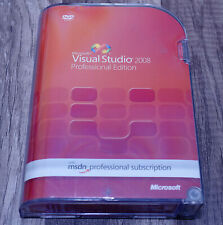 Microsoft Visual Studio 2008 Professional Pro full version pre-owned UEH-00006