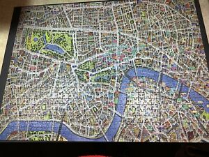 JIGRAPHY CITYSCAPE LONDON 1000 66x50cm JIGSAW complete