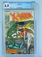 Marvel X-Men #61 CGC 6.0 1969 2nd appearance of Sauron White pages