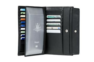 NEW Samsonite Mens Rfid Wallets  Dlx Leather Wallets Compact Wallet With 17Cc -