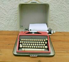 More details for rare pink olympia sm7 de luxe typewriter - good working order ~ free uk post