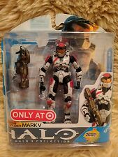 McFarlane Halo Target Exclusive White and Red Spartan Mark IV Figure! NIB - MINT