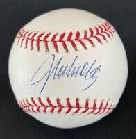 JOHN SMOLTZ ATLANTA BRAVES SIGNED AUTOGRAPHED OFFICIAL MLB BASEBALL PSA/DNA COA