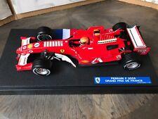 """F1 Ferrari F2005, Version GP France, Schumacher, Ltd """"GP France"""" 1/18 Neuf"""