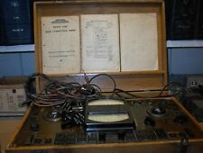 1936 Vintage Deluxe Series Supreme Radio Tube Tester 550 Audio Amplifier Stereo