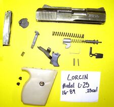 LORCIN L 25 CAL. GUN  PARTS LOT  ALL PARTS PICTURED ALL 4 ONE PRICE #16-89
