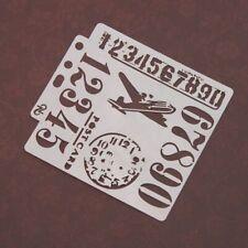Stencils Template Scrapbooking Painting Embossing Stamping Album Card Number DIY