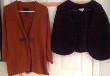 Cynthia Rowley Large Brown Sweater
