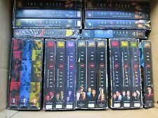 HUGE Lot of 21 X Files Video Tapes 2 Episodes per tape Pilot/Deep Throat X-FILES