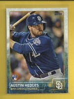 Austin Hedges RC 2015 Topps Update Rookie Card # US176 San Diego Padres Baseball