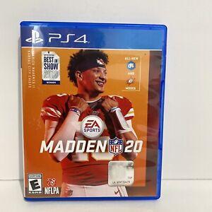 Madden NFL 20 - Sony PlayStation PS4