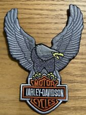 Embroidered Harley Davidson  Up Wing Eagle  Iron On Patch