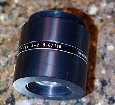Scitex S-2 high-resolution scanner lens 110 mm f5.0